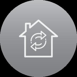 Mortgage Refinance Icon