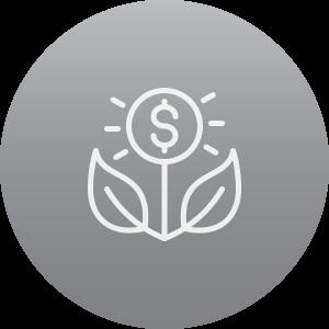 Simple vs Compound Interest Icon